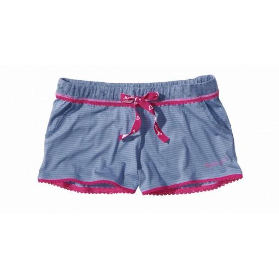 Dámske fialové pyžamové kraťasy New Angel MUSTANG
