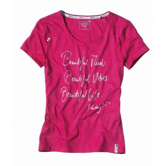 Dámske ružové tričko Selena MUSTANG
