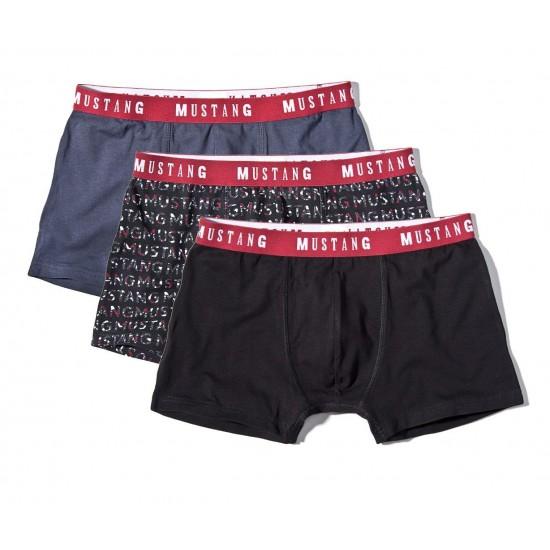 Výhodné balenie pánských športových boxeriek (3ks) MUSTANG