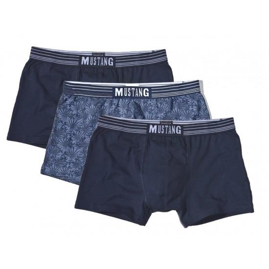 Výhodné balenie pánských elegantných boxeriek (3ks) MUSTANG