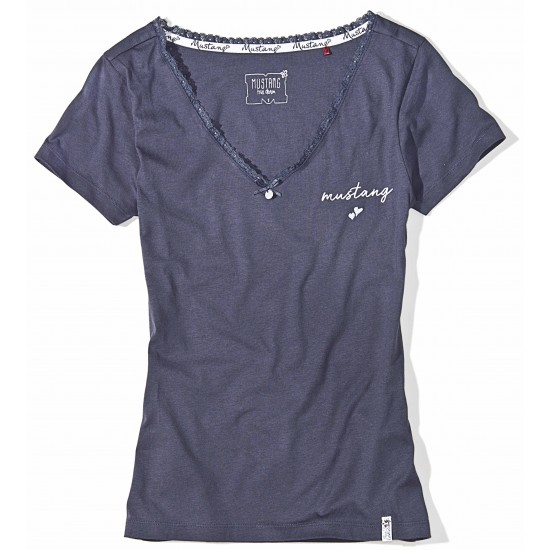 Dámske šedé tričko Rebecca MUSTANG