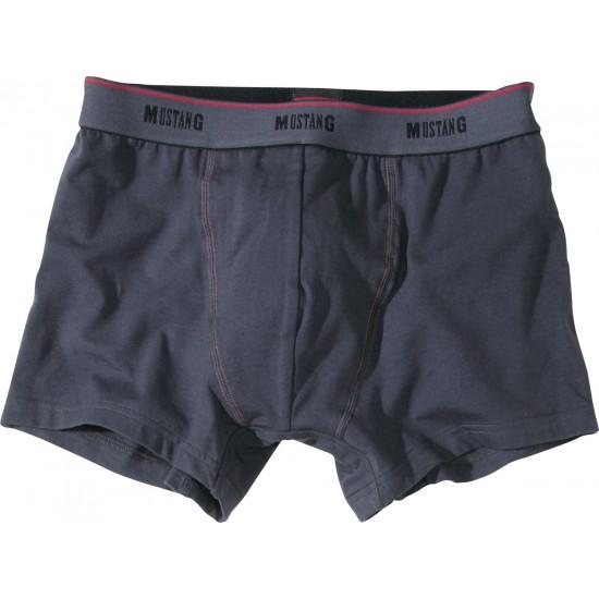 Pánske tmavosivé boxerky Great Basic MUSTANG