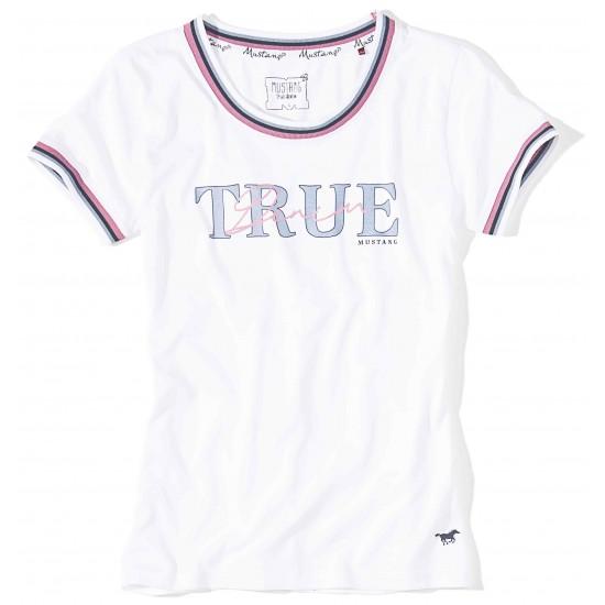 Dámske biele tričko SKADI MUSTANG