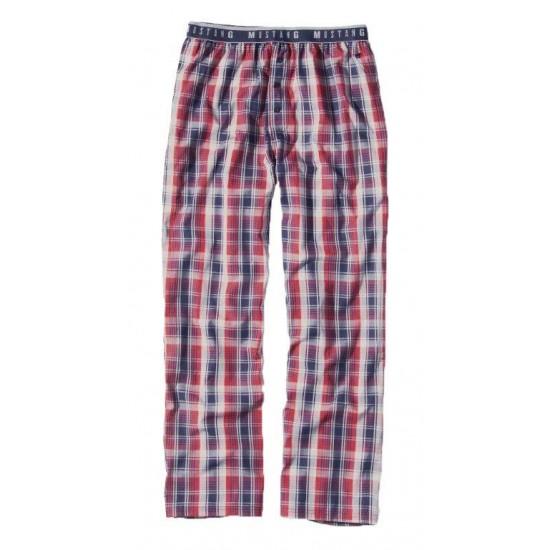 Pánske kockované pyžamové nohavice Fresno MUSTANG