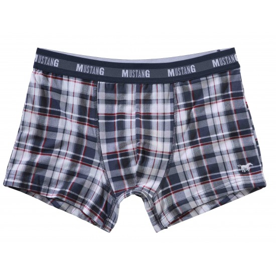 Pánske kockované boxerky Fabio MUSTANG